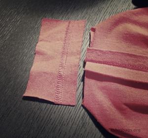 T-Shirt bags prep Step 4d