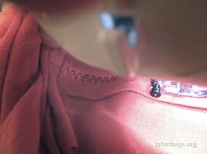 T-Shirt bags prep Step 5b