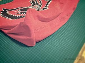 T-Shirt bags prep Step 5c