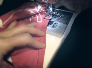 T-Shirt bags prep Step 6C