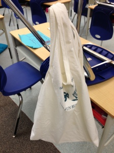 Teacher's 2nd Tshirt bag